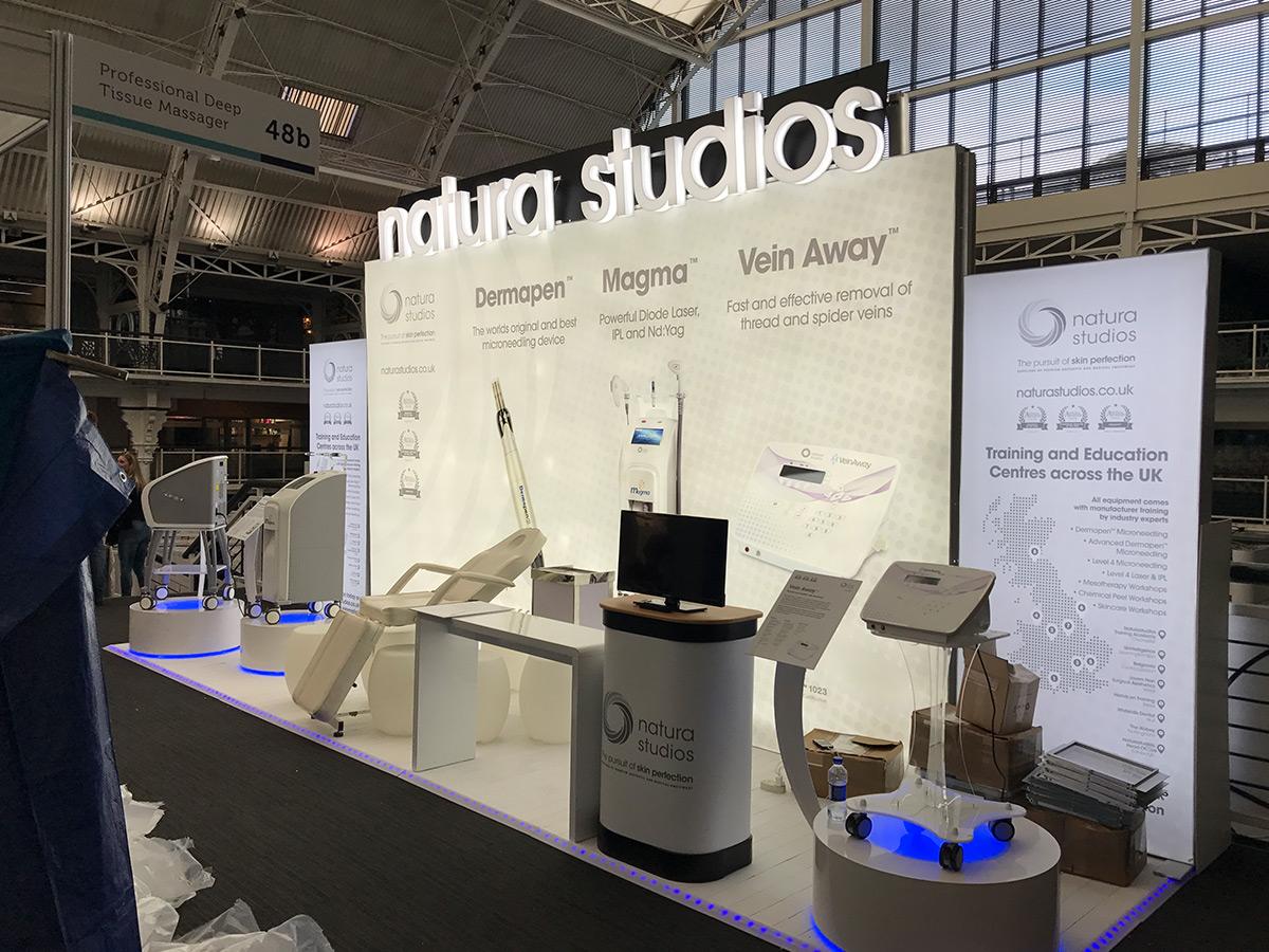 exhibition advertising light box