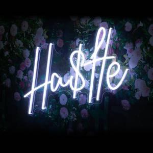 neon lights sign