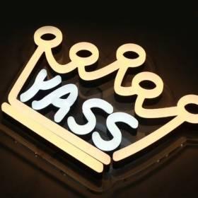 letters--signage